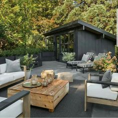 I could sit in this calm outdoor patio for a few hours - easily!