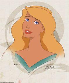 Odette by ~LathronAniron on deviantART I know it isn't Disney but it is still one of my favorite Princess films.