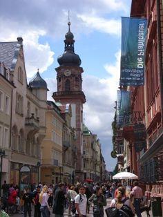 Shopping in the Mainstreet, Heidelberg GER