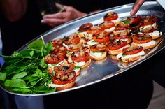 CRAVE Catering's Bruschetta