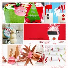 Adorable and super easy to make Christmas Crafts, Gifts and Projects. Perfect last minute ideas!