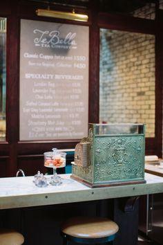 counter at tebella tea company, tampa   travel photography #shops