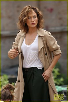 jennifer lopez supported leah remini decision to leave scientology 02 Jennifer Lopez dons a trench coat while shooting scenes for her upcoming film Shades of Blue on Tuesday (July 7) in New York City.    On the same day, the 45-year-old…