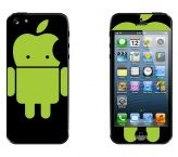 iPhone 5 almás android skin www.mayom.eu Android, Iphone, Self