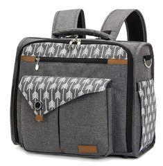 Jenny.Ben Fashion Casual Messenger Mummy Bag Waterproof Nylon Large Capacity Oxford Cloth Bag