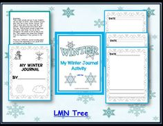 LMN Tree: Integrating Writing with a Free Winter Journal Activity