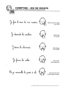 Aperçu du fichier Zecol - Toute petite Section Maternelle.pdf French Teaching Resources, Teaching French, French Poems, Circle Time Songs, Baby Gym, French Class, French Language Learning, Home Schooling, Kids Songs