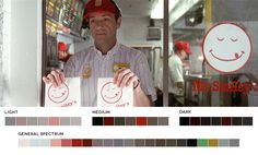 Films and their corresponding color palettes:  American Beauty, 1999 Cinematography: Conrad L. Hall