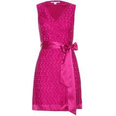 Diane von Furstenberg Derbette Dress ($203) ❤ liked on Polyvore