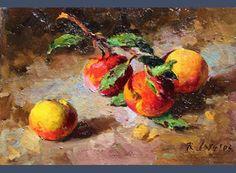 Randall Lake Art - Peaches