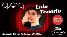 Casino Cirsa Valencia y Opera presentan a Lalo Tenorio, uno de los cómicos más joven del país - http://www.valenciablog.com/casino-cirsa-valencia-y-opera-presentan-a-lalo-tenorio-uno-de-los-comicos-mas-joven-del-pais/