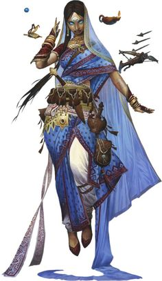 epicroll:  Meet the newest Pathfinder iconic, Rivani the Psychic! - Mo