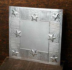 Metal Star Vintage Ceiling Tile
