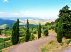 Val d'Orcia: I was there on holiday last summer