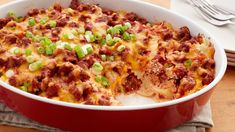 """""""Comfort"""" is the key word for this creamy ground beef and noodle casserole that makes a memorable meal out of simple ingredients."""