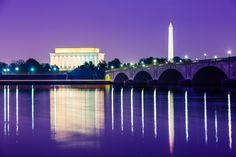 Una Vista desde el rio Potomac