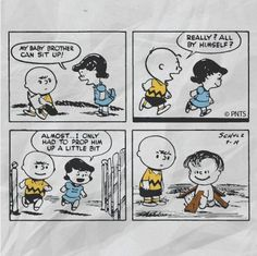 Linus' first Peanuts comic strip. September 19th, 1952. | Today's ...