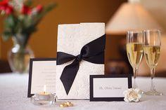 black tie weddings | Black tie Wedding Invitation by URinvitedus on Etsy