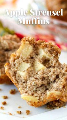 Muffin Recipes, Apple Recipes, Brunch Recipes, Fall Recipes, Cookie Recipes, Apple Desserts, Brunch Ideas, Breakfast Recipes, Best Breakfast
