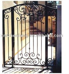 Wrought Iron Gate Designs, Wrought Iron Garden Gates, Garden Gates And Fencing, Metal Gates, Sliding Gate, Iron Furniture, Entry Gates, Iron Work, House Front