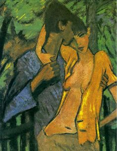 Otto Müller - Pair of Lovers 1919