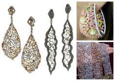 L'Dezen jewelry worn on the red carpet #earrings #bracelet #jewelry #celebrity #celebs #redcarpet