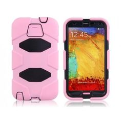 Drop Armor Durable Pink Samsung Galaxy Note 3 Case Not as pretty but it would keep it safe...