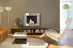 Modern Fireplace modern living room