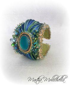 Martha Mollichella: Bracciale Embroidery-Shibori VENICE