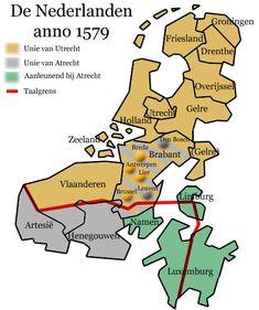 Unie van Utrecht tegenover de Unie van Atrecht