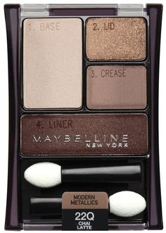 I own this! Maybelline Eyeshadow! 22Q -Chai Latte. & I love it.