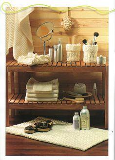 Gomitoli Magici: tappeto bagno uncinetto