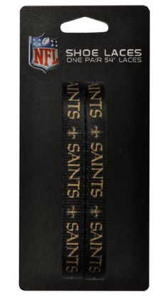 NFL New Orleans Saints 54Inch LaceUps Shoe Laces >>> Read more reviews of the product by visiting the link on the image.