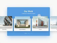 Agency Site UI designs - UI Movement