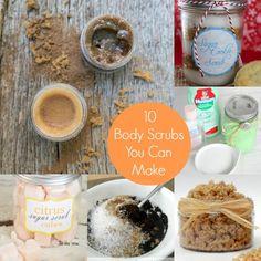 Spa Day 10 Body Scrub Recipes You can Make