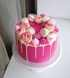 Cake for my birthday Cake for my birthday Related posts: Floral Drip Geburtstagstorte – Cake Beautiful Photo of Makeup Birthday Cake Ideas for birthday cake for women bling pink Ideas for birthday cake fondant girl pink baby shower Girly Cakes, Cute Cakes, Pretty Cakes, Pink Cakes, 25th Birthday Cakes, Birthday Ideas, 50th Birthday Cake For Women, 12th Birthday, Macaroon Cake