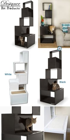 Designer Pet Products Sebastian Cat Tower - Puutty Power!