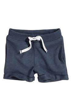 Super lækre Name it Sweatshirtshorts Hugo mini Mørkeblå Name it Shorts til Børn & teenager i luksus kvalitet