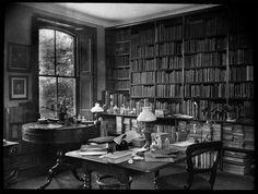 Charles Darwin's study.  #GISSLER #interiordesign