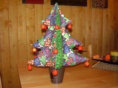 Árbol de Navidad en patchwork: fotos de algunos tipos