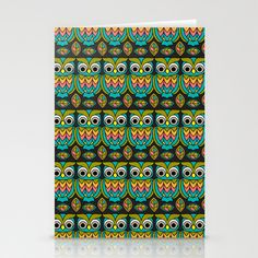 Cute Mr. Hoot Stationery Cards by Joanne Paynter - $12.00