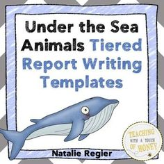 Rainforest Animals Tiered Report Writing Templates  Rainforest