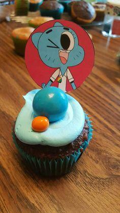 Athina's 11th Birthday. The Amazing World of Gumball CupCake