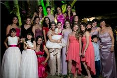 Madrinhas! Meninas! Casamento Brazilian Country Wedding