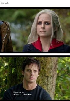 I could tell from the way he was looking at her that he knew she was a zombie