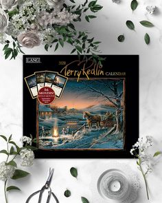 Enjoy the picturesque paintings of life in small town America. This 2020 Wall Calendar features beautiful artwork by Terry Redlin and includes 4 extra months as a bonus! Terry Redlin, Small Town America, Beautiful Artwork, Small Towns, Calendar, Paintings, Wall, Life, Painting