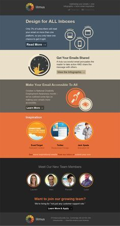 Best Email Design Images On Pinterest Email Design Inspiration - Cool html email templates