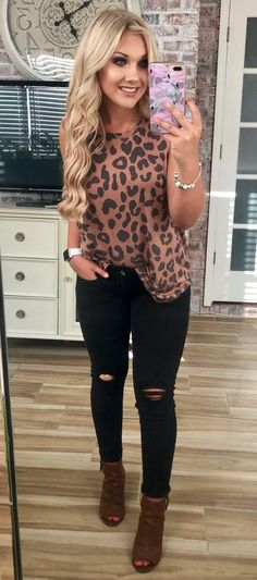 Preppy Summer Outfits To Try Now Preppy Summer Outfits, Fall Winter Outfits, Spring Outfits, Casual Outfits, Cute Outfits, Beauty And Fashion, Cute Fashion, Fashion Outfits, Leopard Print Outfits
