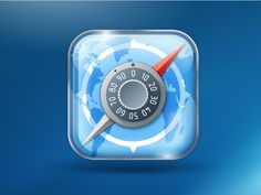 Secure browser icon by Sergey Lagutin