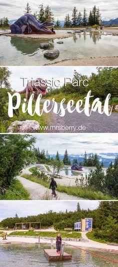 MrsBerry.de Reisetipp für Urlaub als Familie | Der Triassic Park auf der Steinplatte Waidring im wunderschönen Pillerseetal (Österreich) ist ein Spielparadies für Kinder und ein absolut empfehlenswertes Ausflugsziel für Familien.